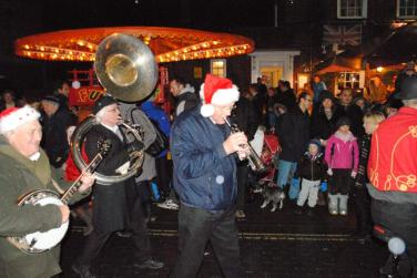 Christmas Fayre - Here comes the swing band