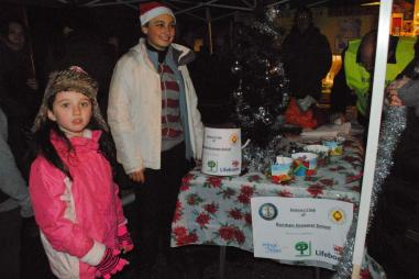 Christmas Fayre - Festive stalls line the High Street