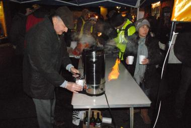 Christmas Fayre - Hot drinks to dipell the cold