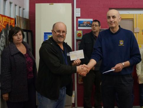 Award of Swimarathon sponsor money to Burnham Youth Club