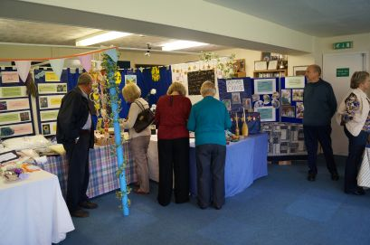 The arts and craft stalls
