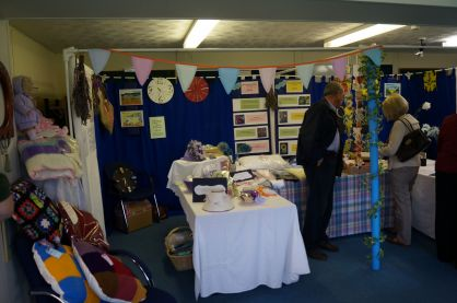 The crafts stall