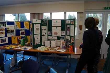 Shirley and her Burnham Health Promotion Trust stall