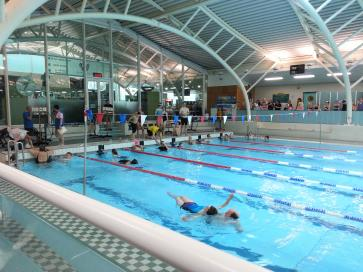 lions club of burnham bucks sponsored swim at windsor leisure pool