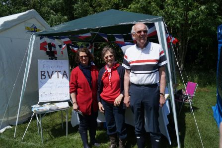 Marie_Francoise Dale with Muriel and David Pepler in the Burnham Village Twinning Association