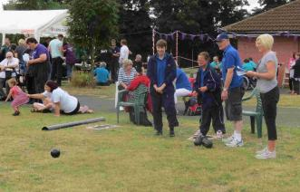 SADSAD Games - Competitors engaged in bowls